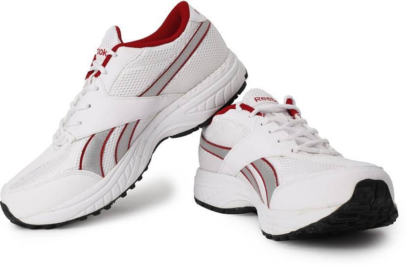 best service e51c3 6ea07 REEBOK Rapid Runner LP Running Shoes For Men (White, Red)