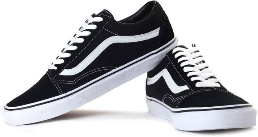 e276c3e02bd0 Vans Old Skool Sneakers For Men - Buy Black Color Vans Old Skool ...