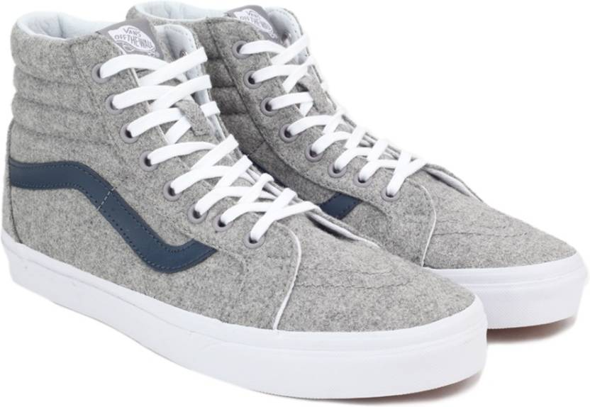 9cc9c24dd6848 Vans SK8-Hi Reissue High Ankle sneakers For Men - Buy Grey Color ...