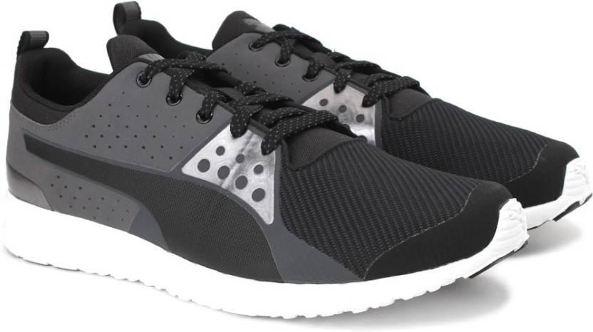 b7f7bb693bc Puma Valor Mesh Running Shoes For Men - Buy Puma Black-Asphalt Color ...
