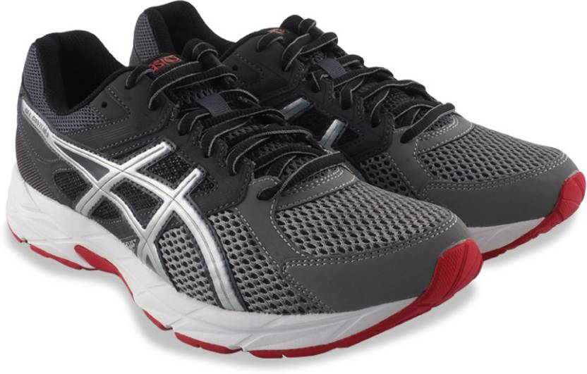 2a777144a6ac Asics GEL-CONTEND 3 Running Shoes For Men - Buy DARK GREY SILVER ...
