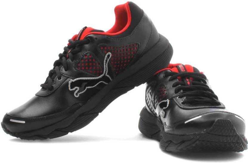 the latest bc8fd f4a6f Puma PUMAGility Power Elite L Training Shoes For Men (Black, Red)
