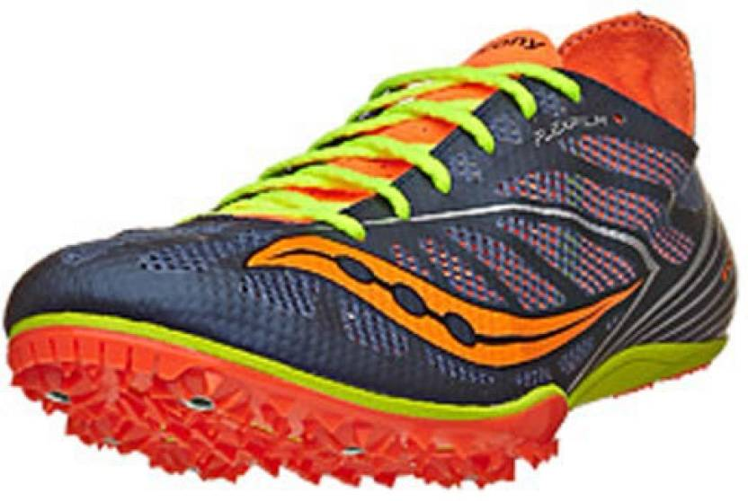 official photos 1c42e 555bf Saucony Endorphin MD4 Men's Spikes Blue/Citron/VZOrange ...