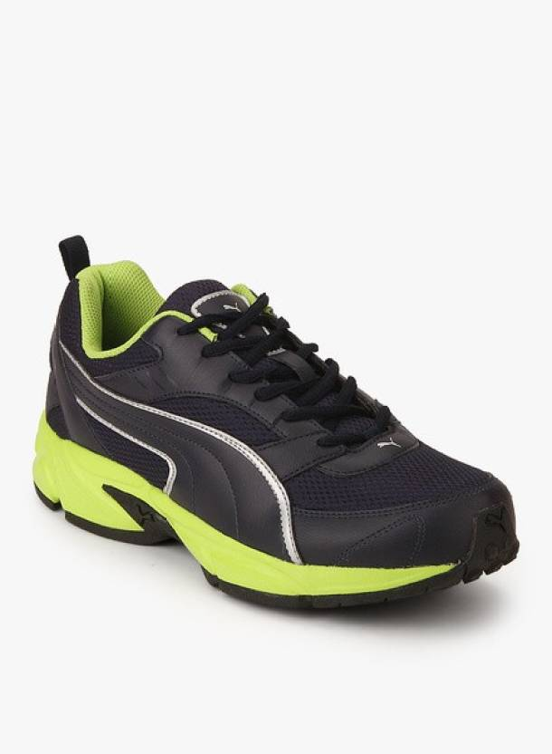 Puma Atom Fashion III DP Running Shoes  (Blue, Green)