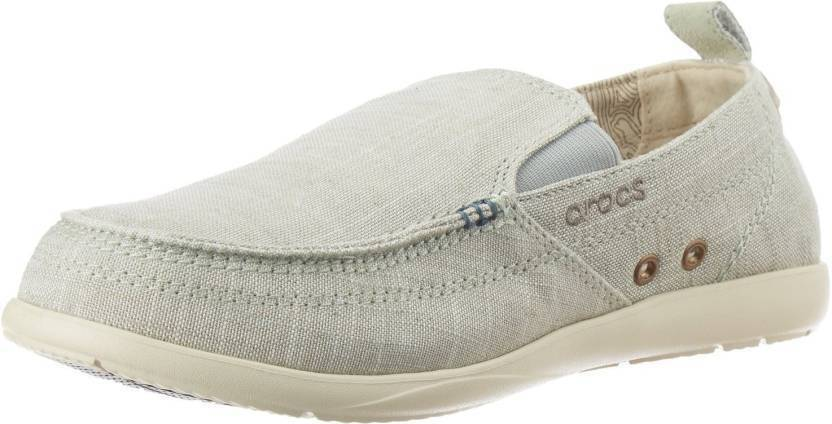 c5da2627ab90 Crocs Walu Chambray Loafers For Men - Buy Grey Color Crocs Walu ...