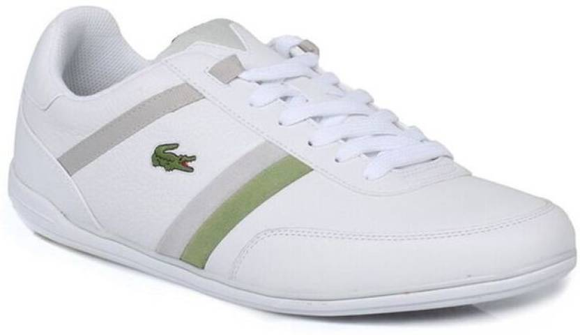 2032a9f09 Lacoste Giron White Trainers Casual Shoes For Men (White). Price  Not  Available
