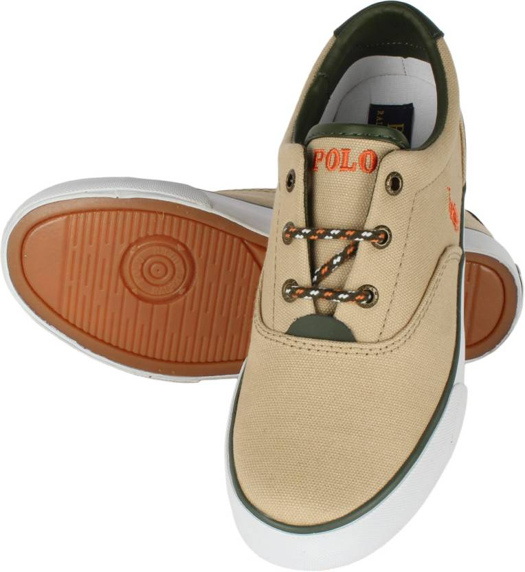 0f9ed062 POLO RALPH LAUREN Sneakers For Men - Buy KHAKHI ARMY Color POLO ...