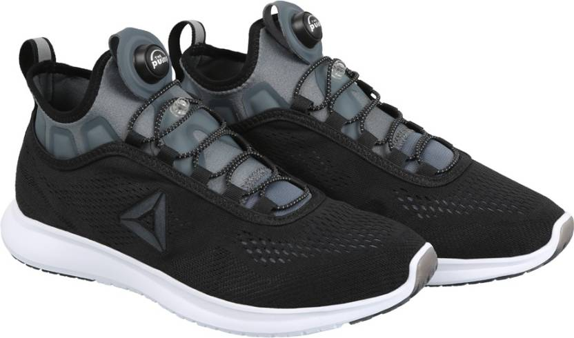 a375fcf357c REEBOK PUMP PLUS TECH Running Shoes For Men - Buy BLACK ALLOY WHT ...