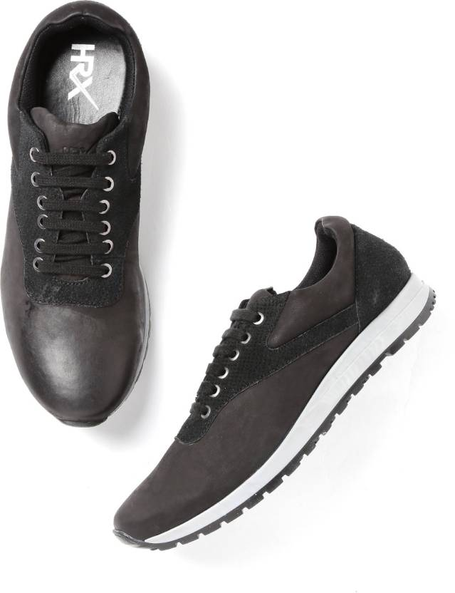 78ade548a HRX by Hrithik Roshan Sneakers For Men - Buy Black Color HRX by ...