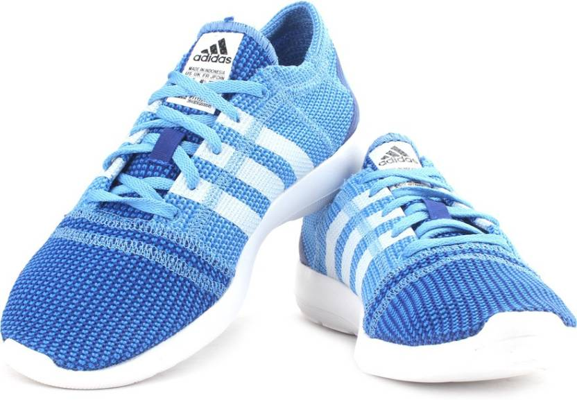 buy online c2ee6 16220 ADIDAS Element Refine Tricot M Running Shoes For Men (Blue)