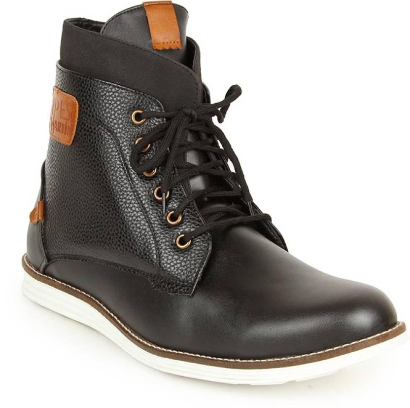 Alpes Martin Cluntch Boots For Men - Buy Black Color Alpes Martin ... edf38c120e6db