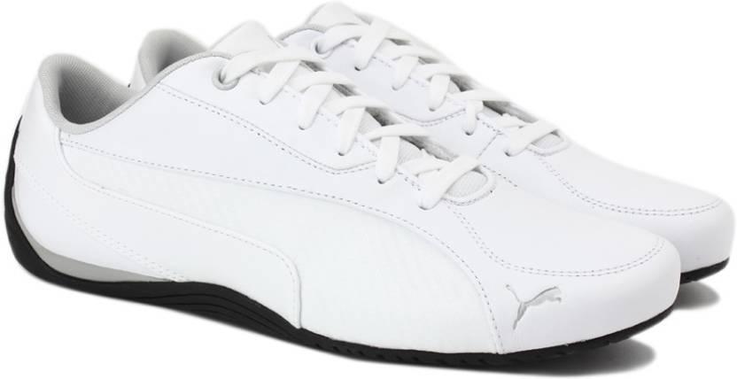 Puma Drift Cat 5 Carbon Sneakers For Men - Buy Puma White Color Puma ... fd52a9da3