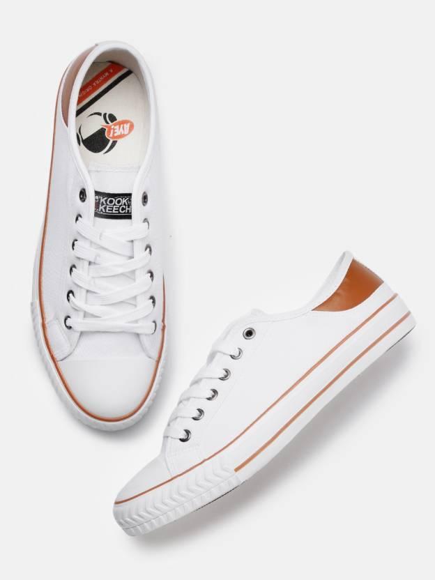 0acc7b43c Kook N Keech Sneakers For Men - Buy White Color Kook N Keech ...