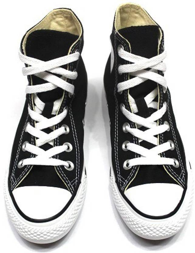 Converse High Tops For Men - Buy BLACK Color Converse High Tops For ... dbc9af189