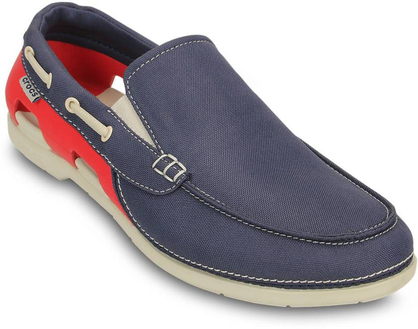248ca251c876 Crocs Beach Line Boat Slip-on M Casuals For Men - Buy 15386-485 ...