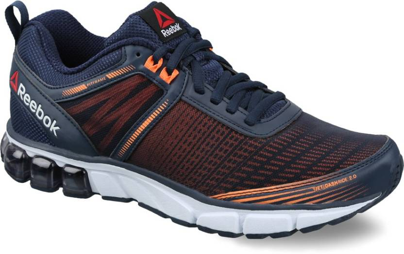 acf08d0a800e REEBOK JET DASHRIDE 2.0 Running Shoes For Men - Buy NAVY PEACH ...