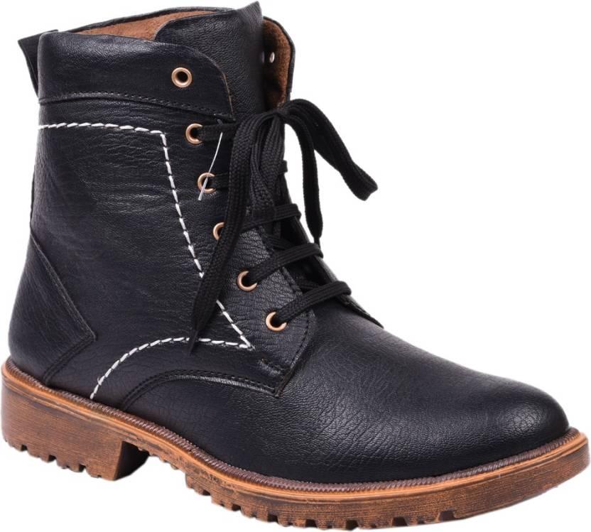 Color Men Buy Knoos Black Biker For Boots zwFq7Yp