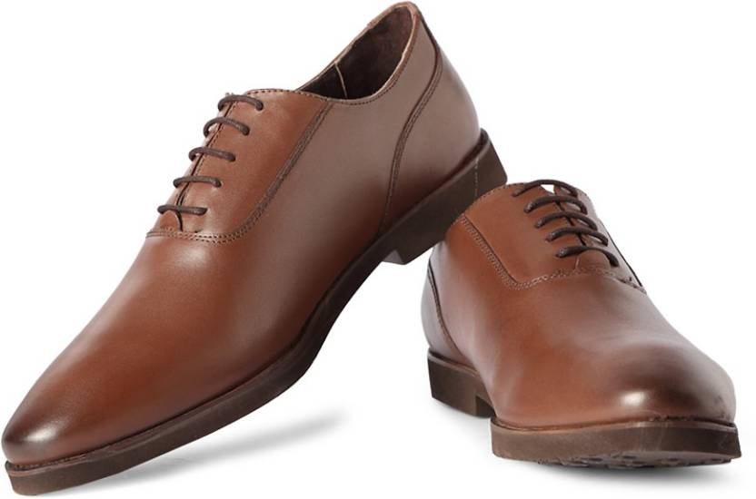 2d11c14cf3 Van Heusen Lace Up Shoes For Men - Buy Brown Color Van Heusen Lace ...