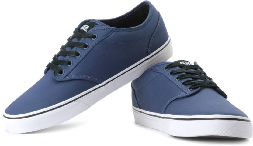 e27225bacacd76 Vans Atwood Canvas Sneakers For Men (Blue). Price  Not Available