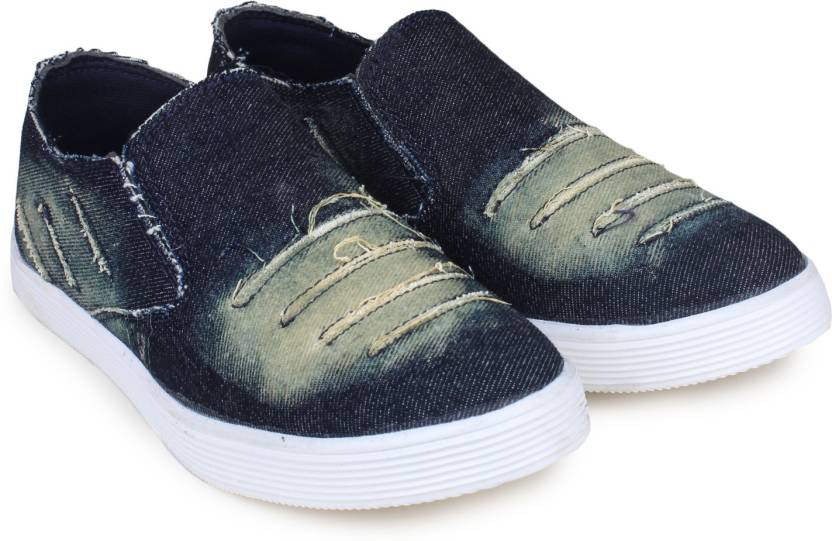 Beonza Denim Jeans Loafers