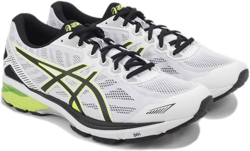 d41039171d Asics GT-1000 5 Sports Shoe For Men - Buy WHITE/SAFETY YELLOW/BLACK ...