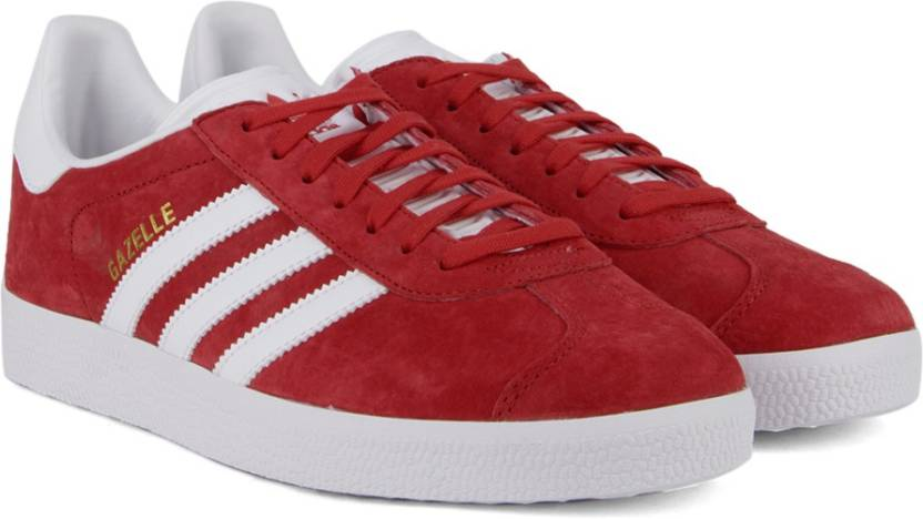 80f2015387f ADIDAS ORIGINALS GAZELLE Sneakers For Men - Buy SCARLE FTWWHT GOLDMT ...