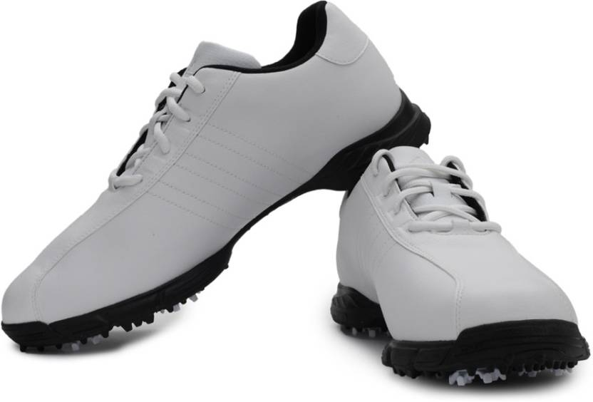 buy popular 8ea29 e1cca Adidas Golf Lite 4 Z WD Golf Shoes For Men (White)