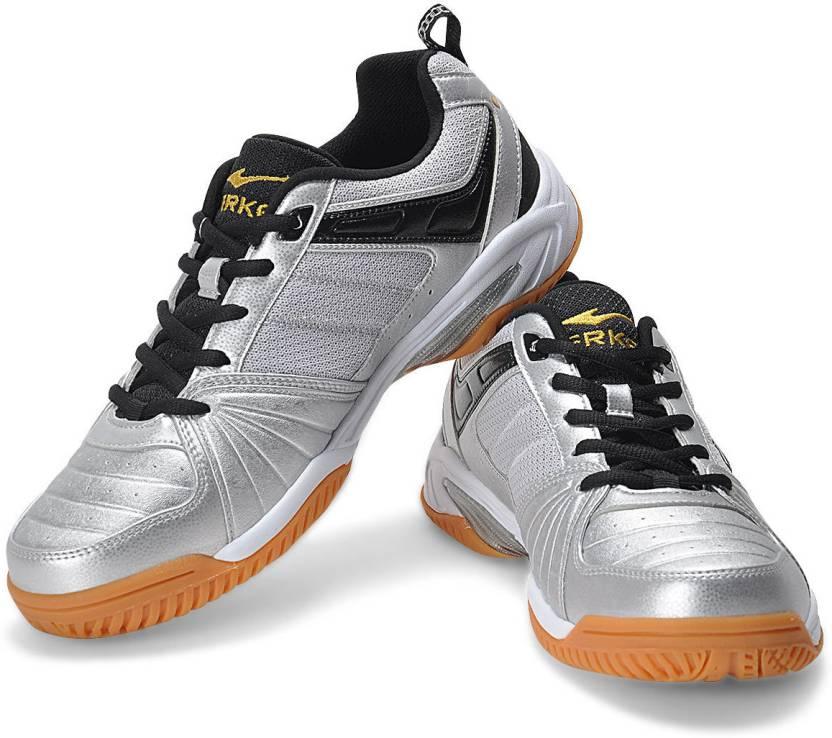 Erke Shine On Badminton Running Shoes For Men - Buy Silver Color ... 43edeb4d5de7