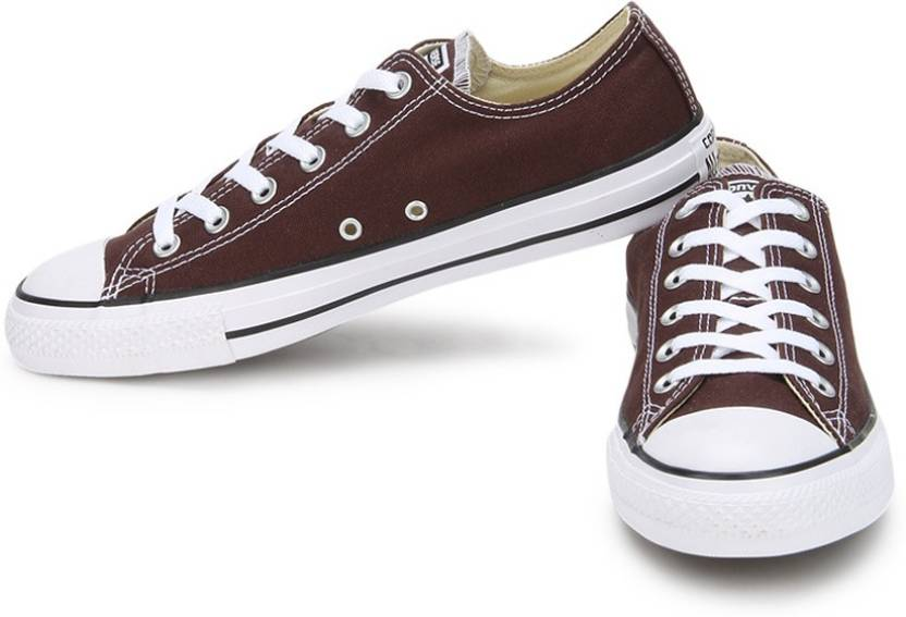 4f3c134308e Converse 150780CCTOX All Star Series Ankle length Canvas Shoes For Men  (Brown)