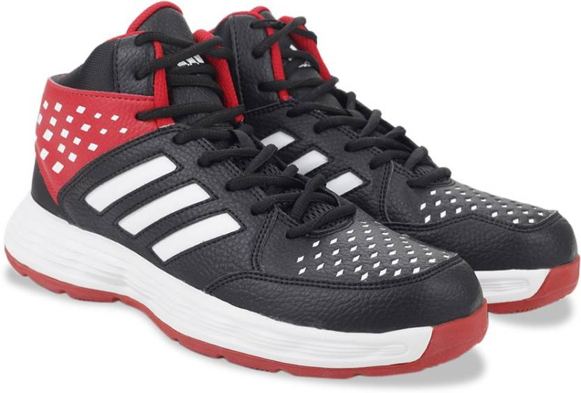 7cbd4f5122e ADIDAS BASECUT16 Basketball Shoes For Men - Buy BLACK WHITE SCARLE ...