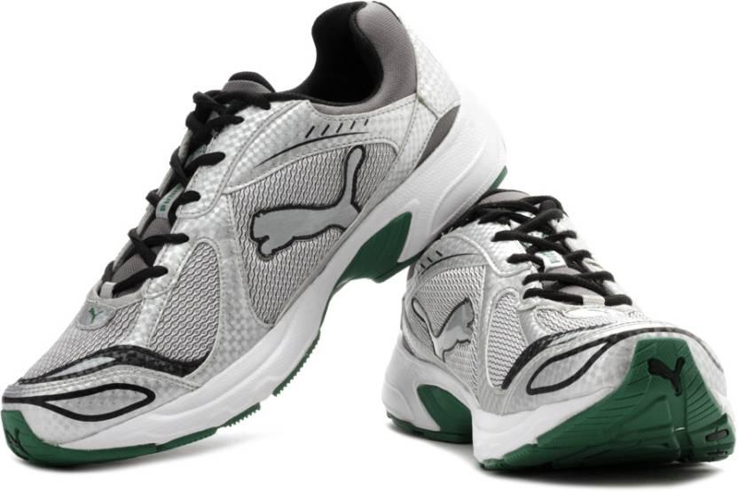 8e104b1ceff9ee Puma Cruz Running Shoes For Men - Buy Silver