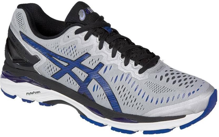 80938e92ae Asics Gel-Kayano 23 Men Running Shoes For Men - Buy Silver, Imperial ...