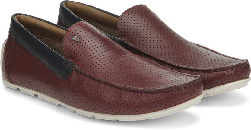 a849a0ed9a7 LP Louis Philippe loafers For Men - Buy Red Color LP Louis Philippe ...