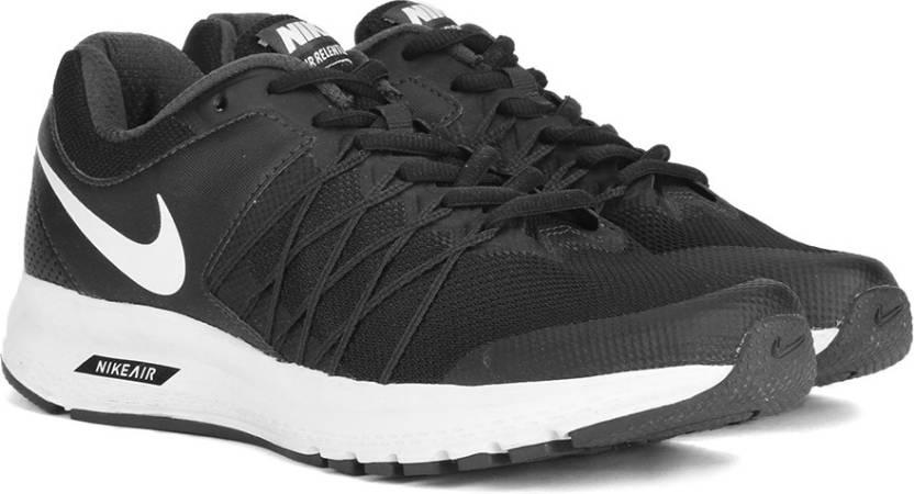 930474e7529 Nike AIR RELENTLESS Running Shoes For Men - Buy BLACK WHITE ...