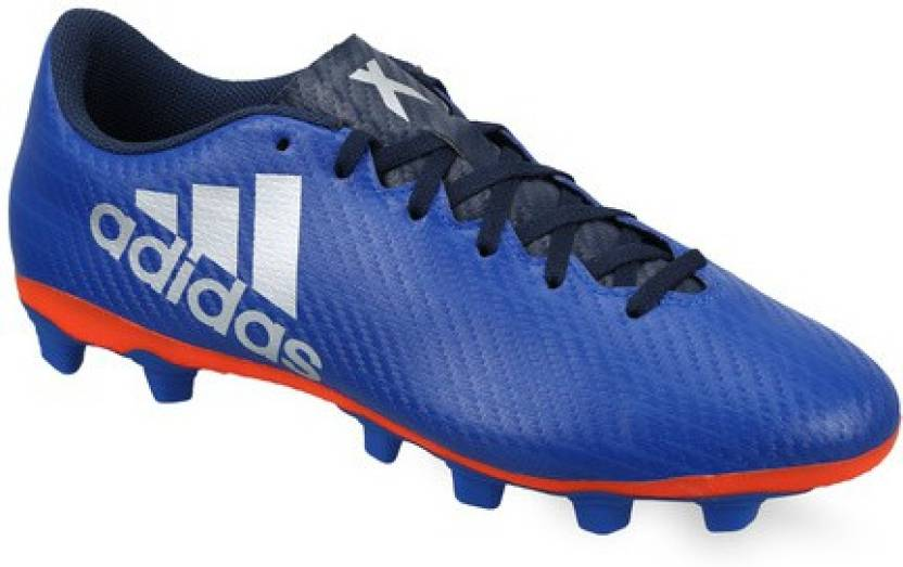 ADIDAS X 16.4 FXG Football Shoes For Men - Buy Blue Color ADIDAS X ... 396df1b95a