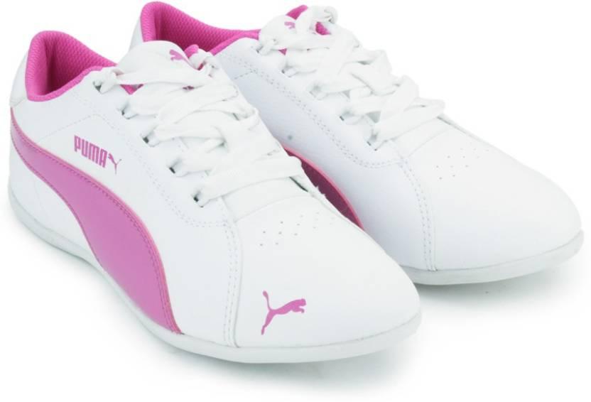 b8495181cd8 Puma Sonia DP Sneakers For Women - Buy white-phlox pink Color Puma ...