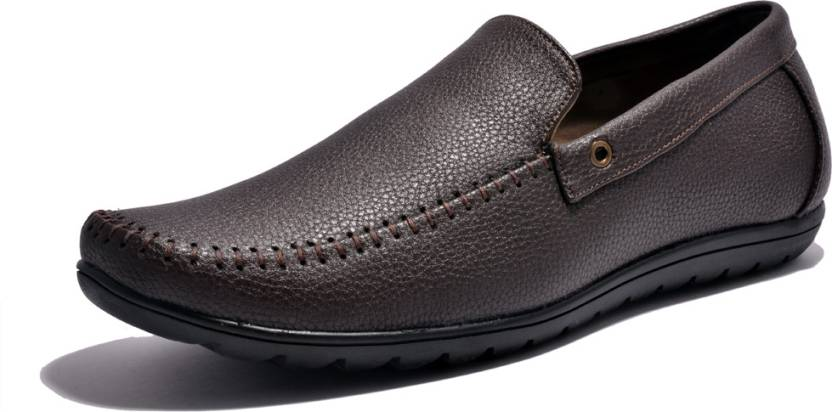 695a670f223 Sir Corbett Rubber Loafers For Men - Buy Brown Color Sir Corbett ...