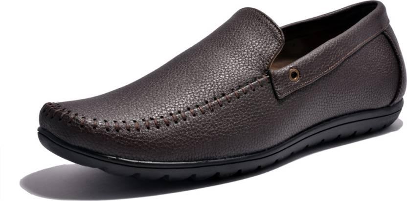 77d9f68bd0f Sir Corbett Rubber Loafers For Men - Buy Brown Color Sir Corbett ...