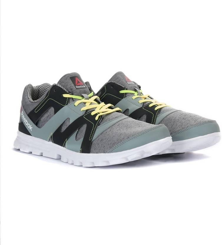 bb35c9f7fed1 REEBOK ELECTRO RUN Men Running Shoes For Men - Buy FLAT GREY SILVER ...