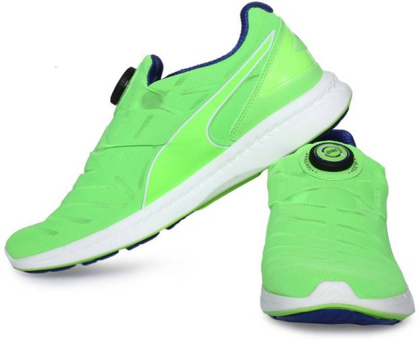 0e619c2137a Puma IGNITE DISC Running Shoes For Men - Buy green gecko-surf the ...