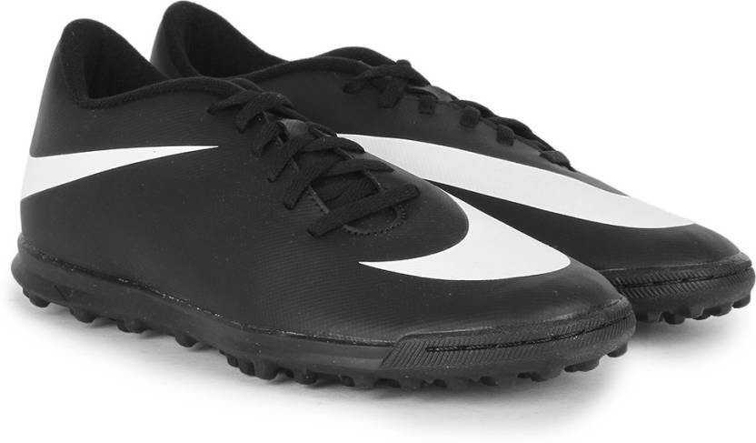 6d4cf7a7cb20 Nike BRAVATA TF Football Shoes For Men - Buy BLACK/WHITE-WHITE NOIR ...