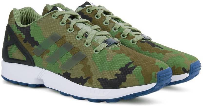 f65a9781c ADIDAS ORIGINALS ZX FLUX Sneakers For Men - Buy TENGRN CBLACK CROYAL ...