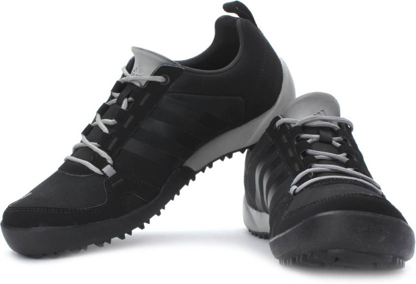 detailed look 644b4 7fffe ADIDAS Daroga Two 11 Lea Outdoors Shoes For Men (Black, Grey)