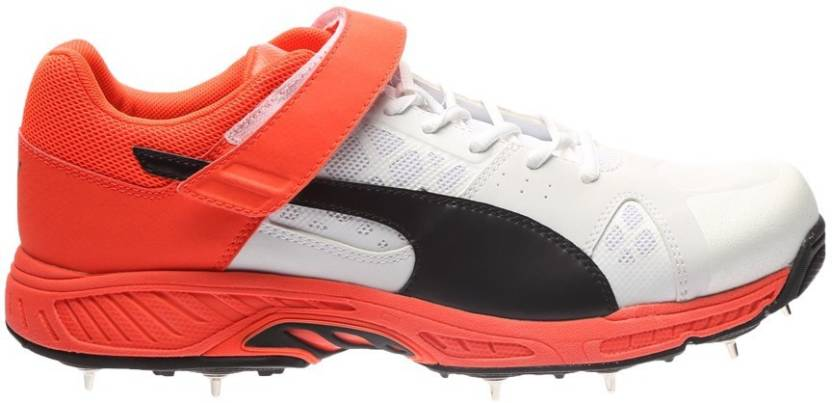 c96144926 Puma evoSPEED Cricket B Cricket Shoes For Men - Buy white-black-red ...