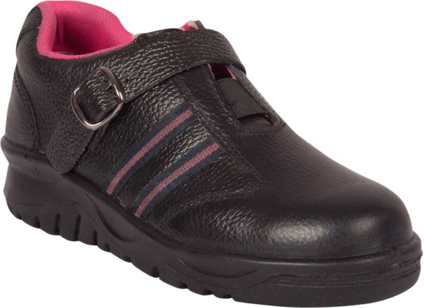 Safety Shoes Black steel For Women - Buy Black Color Safety Shoes ...