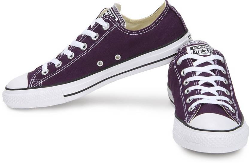 5a224e40e7e Converse 150783CCTOX All Star Series Ankle length Canvas Shoes For Men  (Purple)