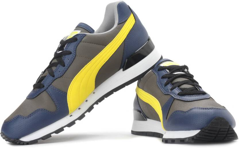 size 40 577f0 55927 Puma TX-3 Sneakers For Men (Yellow, Grey, Navy)