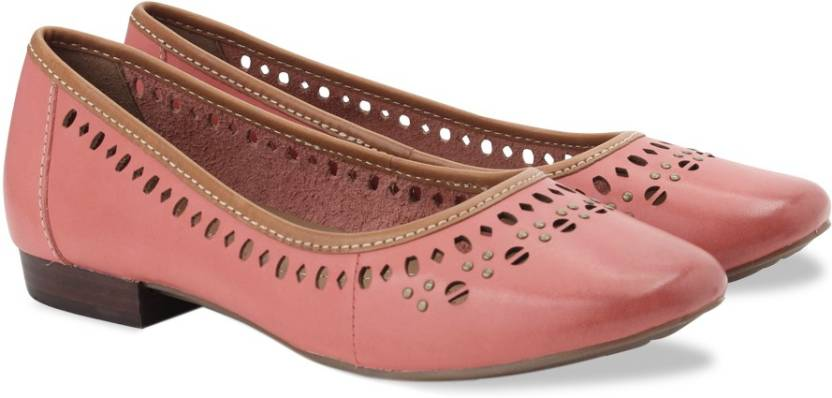9eb54c7d4 Clarks Henderson Hot Coral Leather Slip On shoes For Women - Buy ...