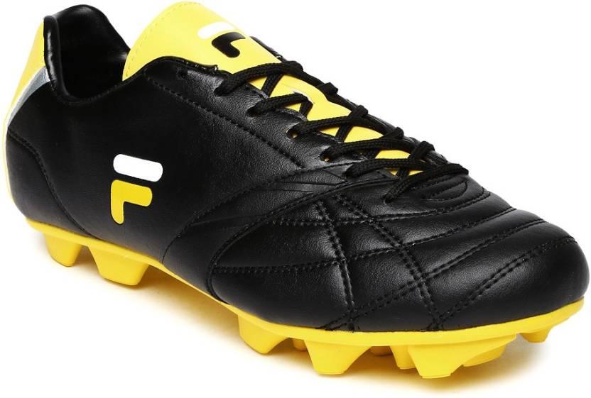 6a48b2598a7 Fila Football Shoes For Men - Buy Black Color Fila Football Shoes ...
