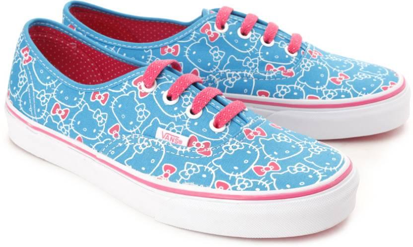 Vans Authentic Canvas Shoes For Women - Buy Hawaiian Ocean 9500147db